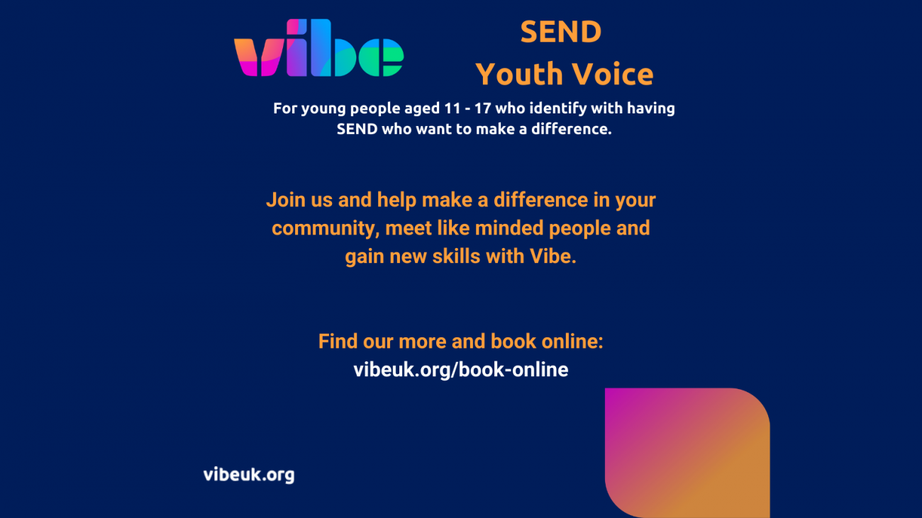 Join SEND youth Voice