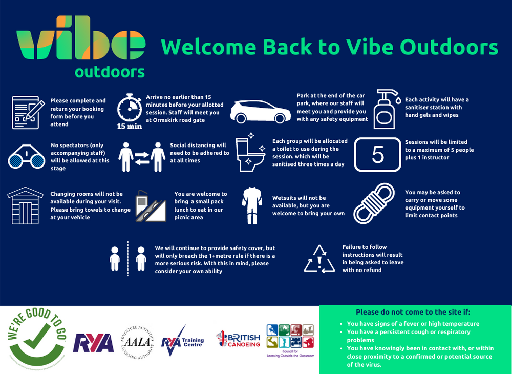 Vibe Outdoor, coronavirus plan